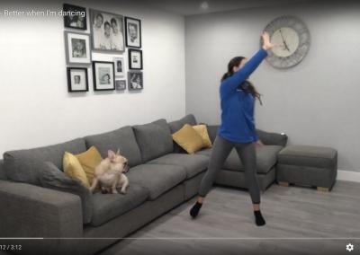 Part 2 – Better when I'm dancing