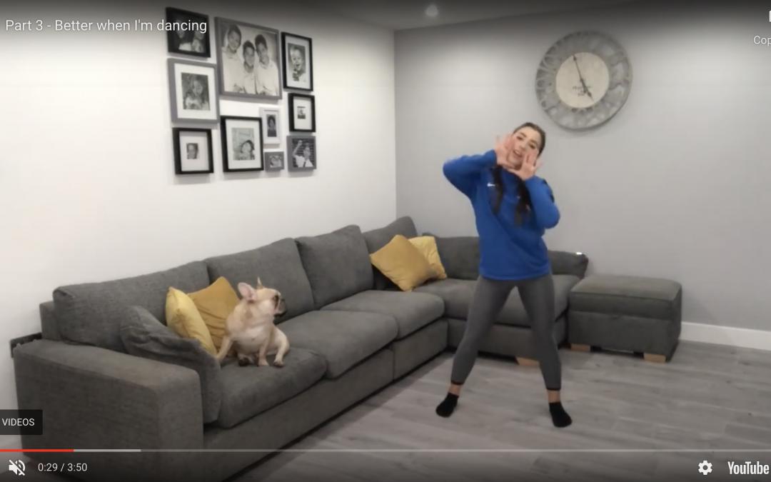Part 3 – Better when I'm dancing