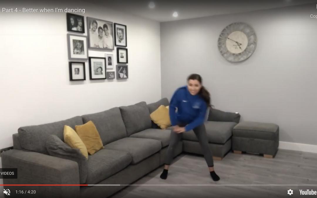 Part 4 – Better when I'm dancing